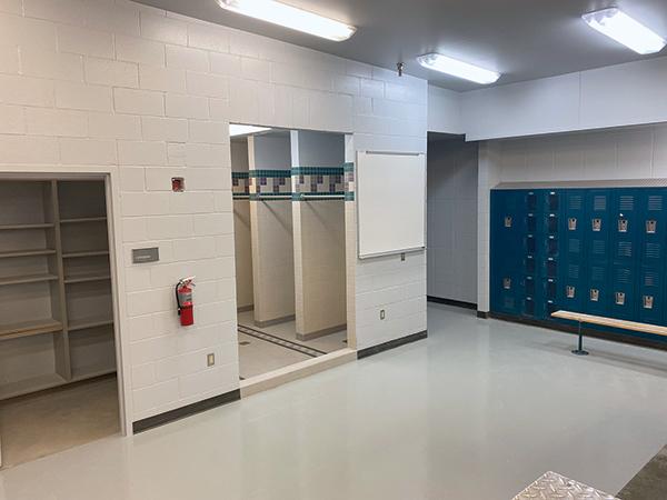 The old LSHS locker room