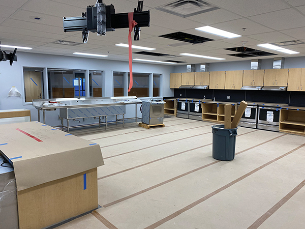 Space for culinary arts