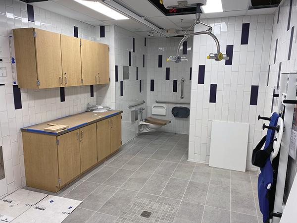 SPED restroom