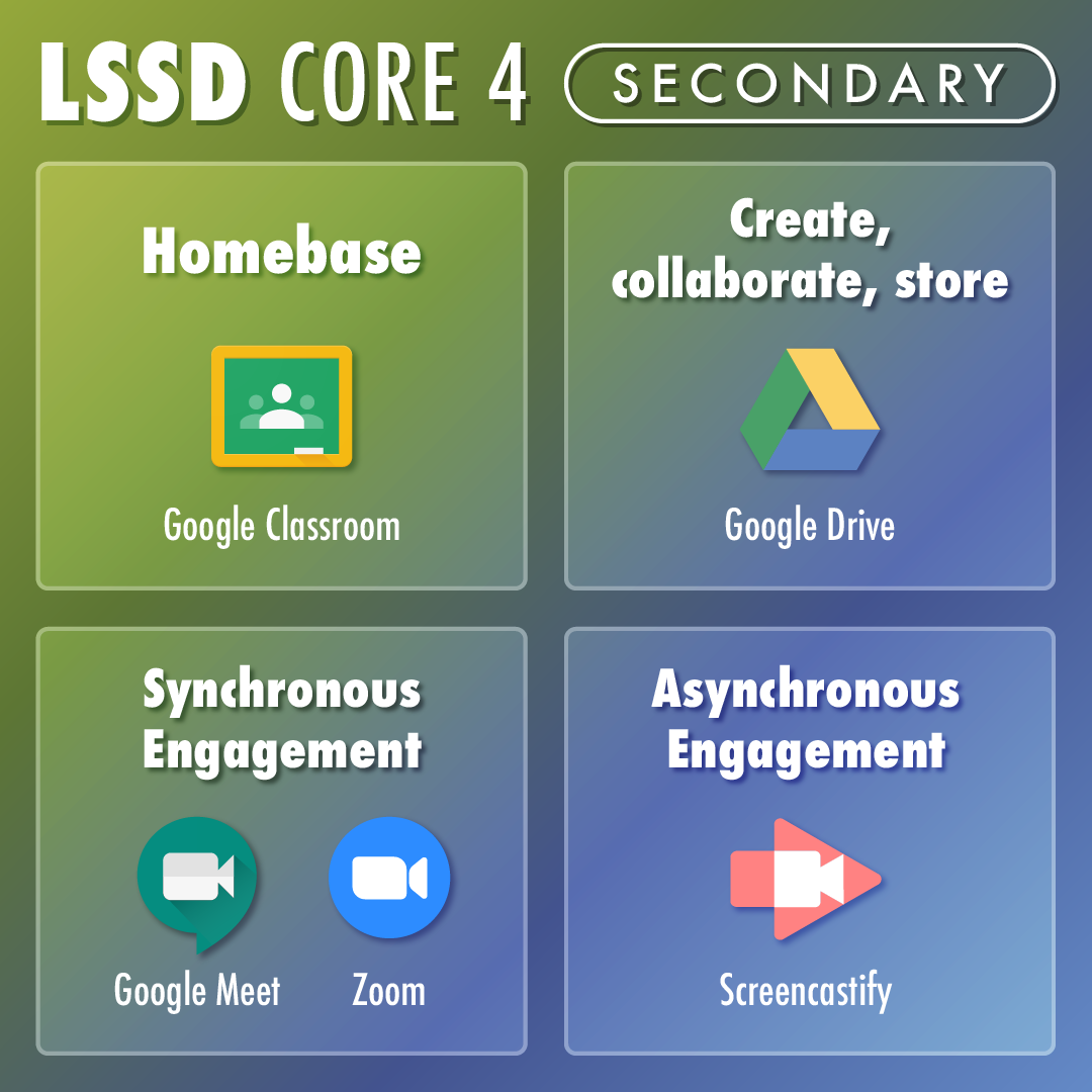 LSSD Core 4 Secondary