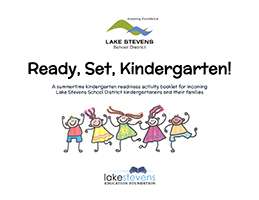 Cover page of kindergarten booklet