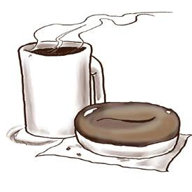 COFFEE AND DOUGHNUTS WITH MR. SNOW ON FRIDAY, JANUARY 25 AT 7:00 A.M.
