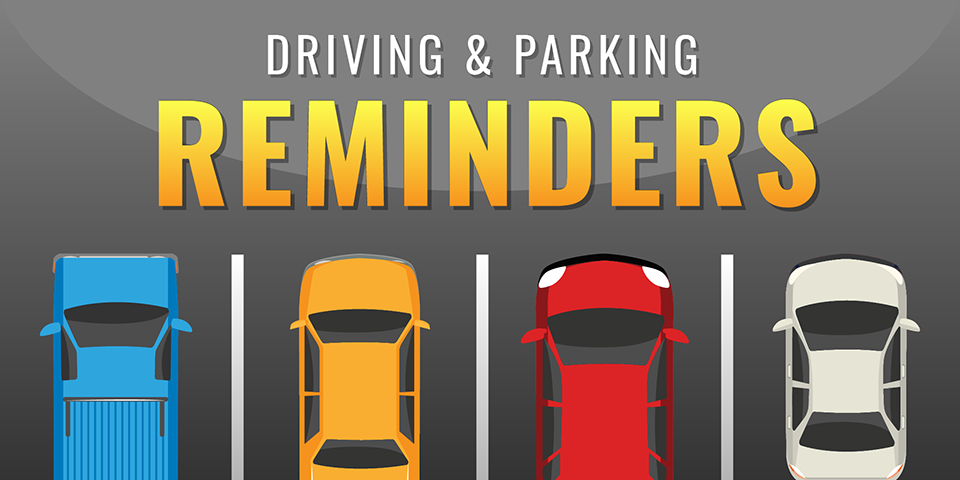 Driving and Parking Reminders