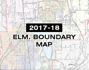 2017-18 Elementary School Boundary Map