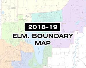 2018-19 Elementary School Boundary Map